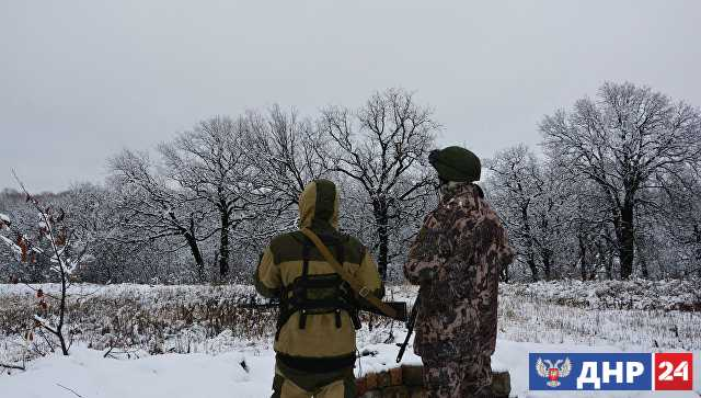 В ЛНР заявили, что украинские силовики обстреляли позиции Народной милиции