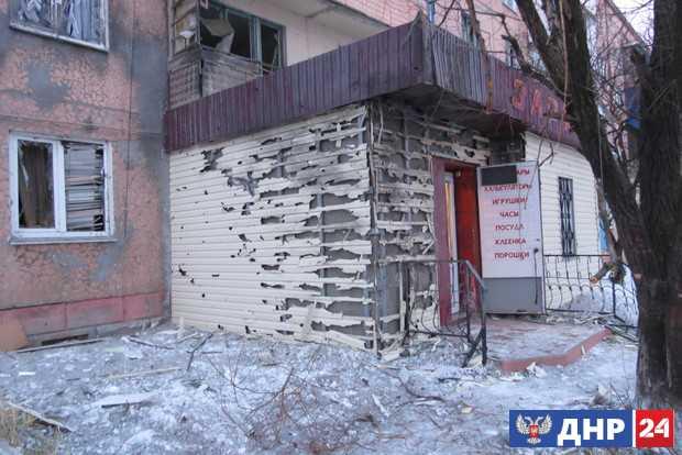 Киевские силовики обстреляли Брянку, два человека ранены