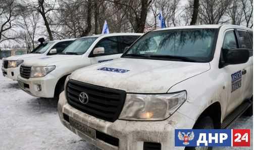 Инспекция ОБСЕ на западной окраине Донецка сорвана из-за снайперского обстрела со стороны ВСУ