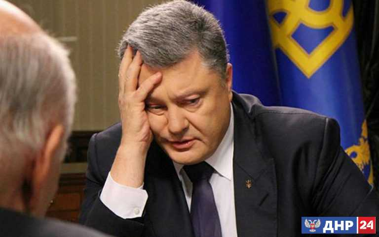Порошенко предупредил о массовых сокращениях из-за блокады.