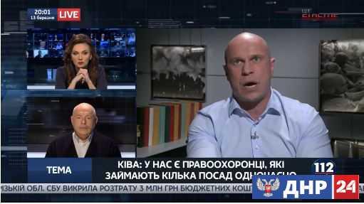 Советник Авакова пообещал подстрелить Семенченко.