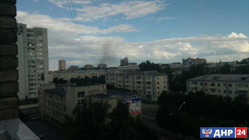 Фото-видеоматериалы с мест терактов в ЛНР Луганске