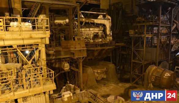 Захарченко заявил о запуске в Донецке Юзовского металлургического завода