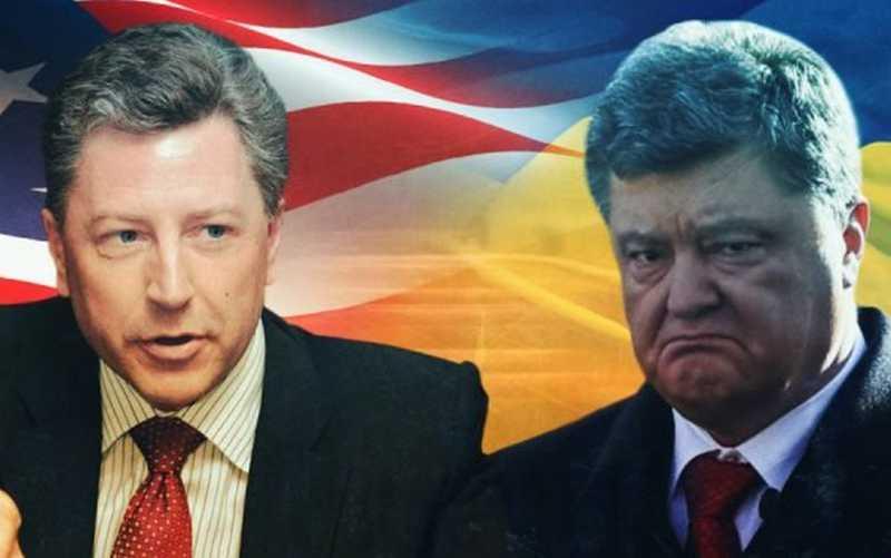 Украина: босс Волкер приехал и рассудил