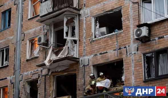 Скончалась девушка, пострадавшая при взрыве в жилом доме в Донецке 26 октября
