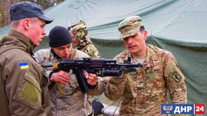 На Украине американцы учатся воевать с Россией