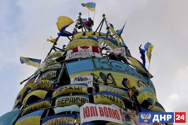 Украинский Новый год: нищета, долги и безнадёжность