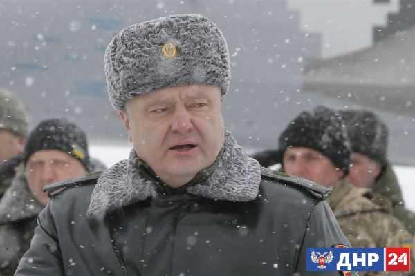 Порошенко получил полномочия военного диктатора