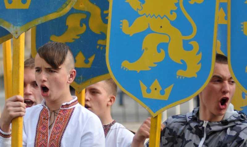 Формирование Украины как анти-России и анти-Европы