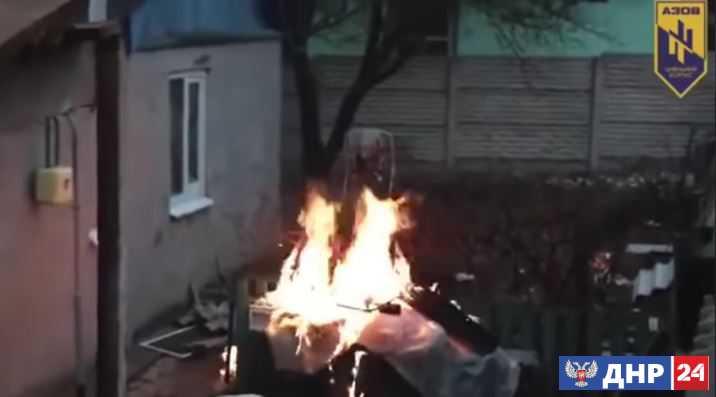 Видео террора боевиков «Азова» шокировало Сеть.