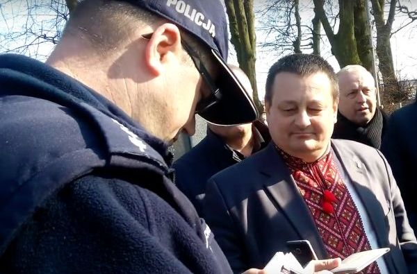 Поляки вызвали полицию, когда украинский чиновник назвал Бандеру героем