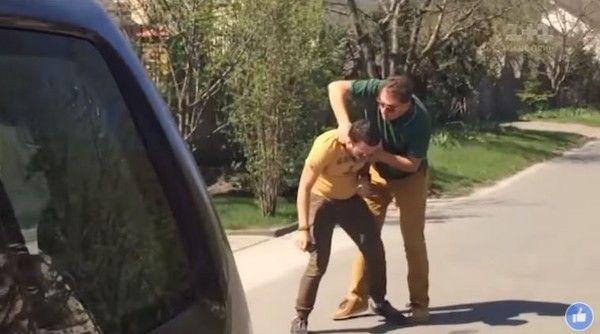 Нечувана свобода слова: охрана украинского министра избивает журналистов