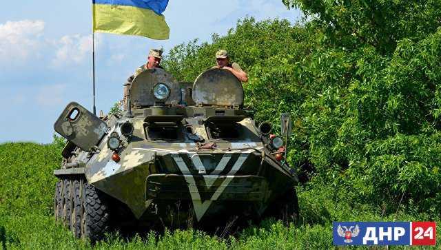 В ЛНР заявили о начале внеплановой ротации подразделений ВСУ в Донбассе