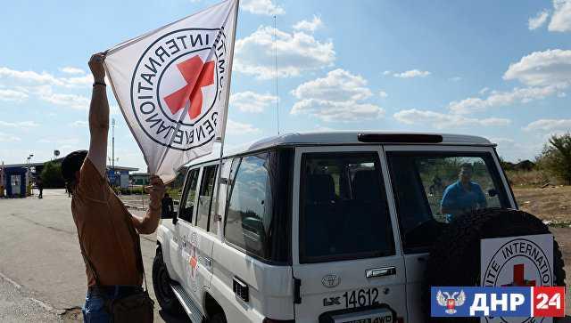 ООН и МККК отправили в Донбасс пять грузовиков с гуманитарной помощью