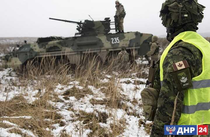 CBC News: США, Канада и Британия тренируют украинских военных с первых дней войны в Донбассе
