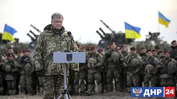 В Сети раскритиковали Порошенко за передачу новой техники ВСУ