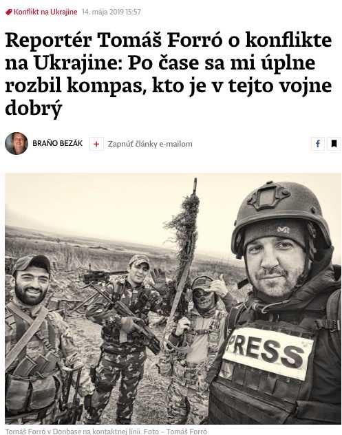 Denník N: Киев проиграл войну за души жителей Донбасса