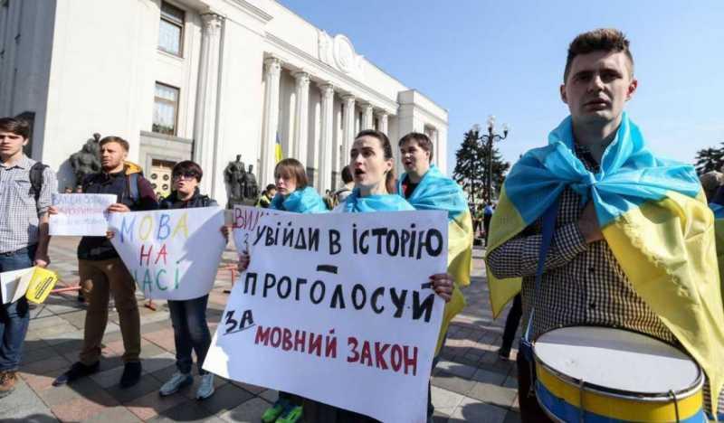 Украинские парадоксы – очнувшиеся «янычары» защищают русский язык
