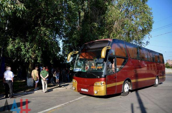 Первая группа жителей ДНР выехала в Ростовскую область для получения российских паспортов