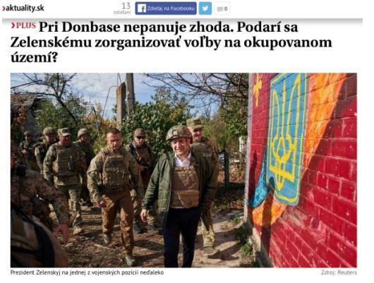 Aktuality: На Украине не могут прийти к согласию по Донбассу