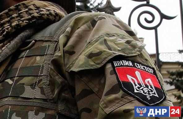 Боевики «Правого сектора» обстреляли грузовик с солдатами ВСУ под Петровским, есть жертвы